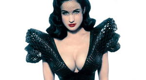 3D-printed Dress for Dita Von Teese